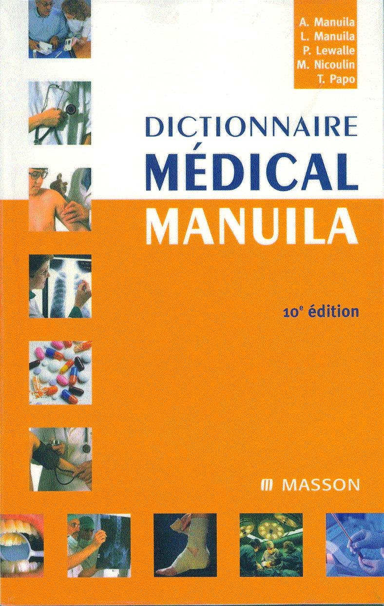 Dictionnaire médical Manuila.