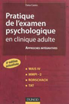 Pratique de l'examen psychologique en clinique adulte
