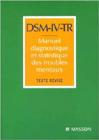 DSM-IV-TR. Manuel diagnostique et statistique des troubles mentaux