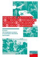 Enfants autistes à l'école primaire : savoirs scolaires et codes sociaux