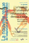 La nouvelle revue de l'adaptation et de la scolarisation, La nouvelle revue de l'adaptation et de la scolarisation - 77