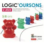 Logic'oursons : pour apprendre le raisonnement logique, l'orientation dans l'espace et dans le temps