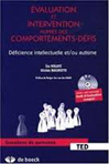 Evaluation et intervention auprès des comportements-défis. Déficience intellectuelle et/ou autisme.