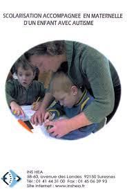 Scolarisation accompagnée en maternelle d'un enfant avec autisme