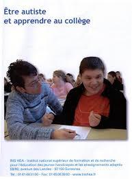 Etre autiste et apprendre au collège