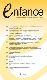 Enfance, ENFANCE - 65(1)