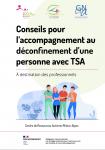 Conseils pour l'accompagnement au déconfinement d'une personne avec TSA : À l'attention des professionnels