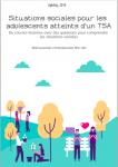 Situations sociales pour les adolescents atteints d'un TSA : De courtes histoires avec des questions pour comprendre les situations sociales