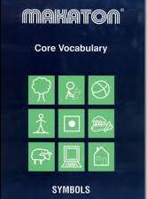 Makaton : Vocabulaire de base. Pictogrammes
